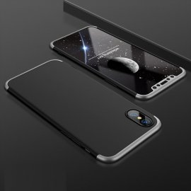 Funda 360 iPhone XS Negra y Gris