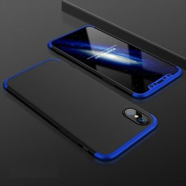 Funda 360 iPhone XS Negra y Azul