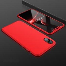 Funda 360 iPhone XS Roja