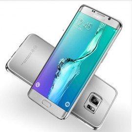 Funda Gel Galaxy S7 Edge con bordes Cromados