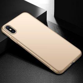 Carcasa iPhone XS Dorada