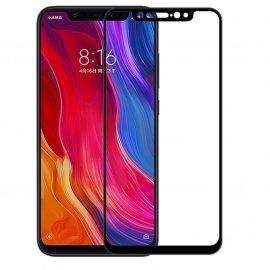 Protector Pantalla Cristal Negro Templado Xiaomi MI 8 SE