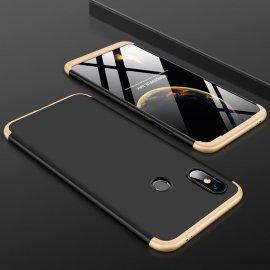 Funda 360 Xiaomi MI 8 SE Dorada Negra