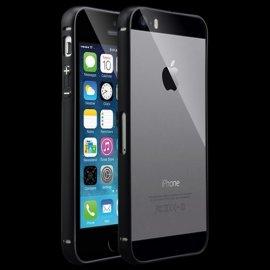 Bumper iphone 5S Aluminio Negro