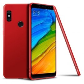 Funda Gel Xiaomi MI 8 SE Flexible y lavable Mate Roja