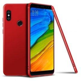 Funda Gel Xiaomi MI 8 SE Flexible y lavable Mate Roja