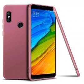 Funda Gel Xiaomi MI 8 SE Flexible y lavable Mate Rosa