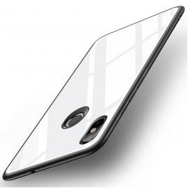 Funda Xiaomi MI 8 SE Tpu Blanca Trasera Cristal