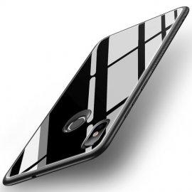 Funda Xiaomi MI 8 SE Tpu Negra Trasera Cristal