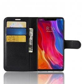Funda Libro Xiaomi MI 8 SE Soporte Negra