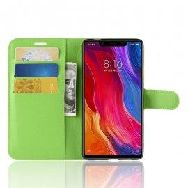 Funda Libro Xiaomi MI 8 SE Soporte Verde