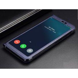 Funda Libro Xiaomi MI 8 SE con Tapa y Soporte Full Azul