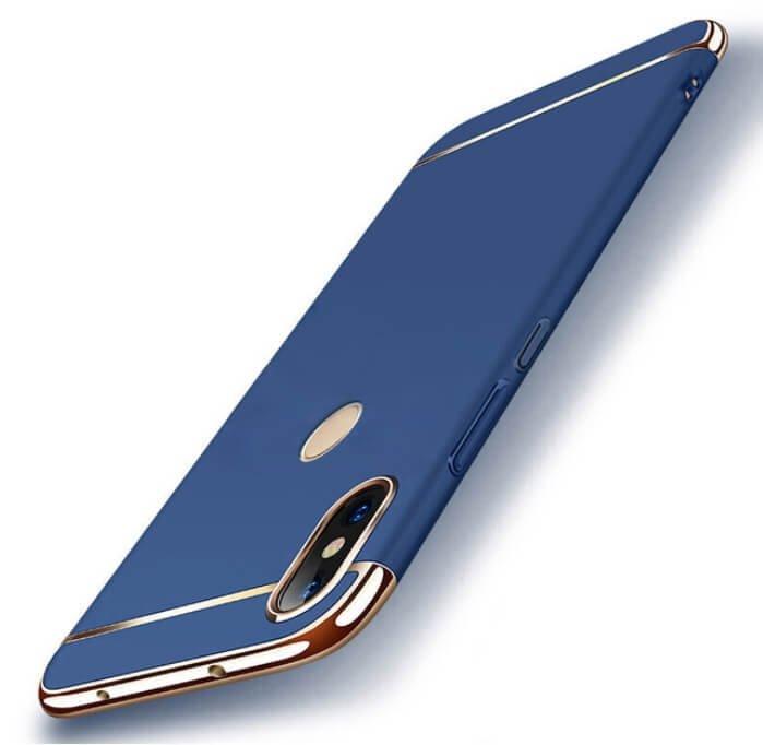 Funda Xiaomi Redmi Note 6 Cromadas Azul