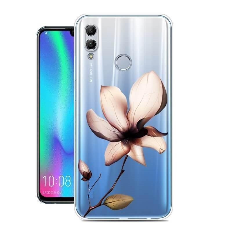 Funda Huawei P Smart 2019 Gel Dibujo Florde alta calidad.