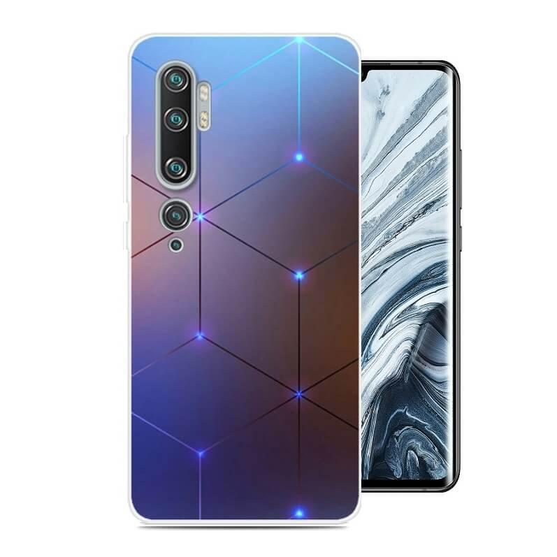 Funda Xiaomi MI Note 10 Gel Dibujo Tech