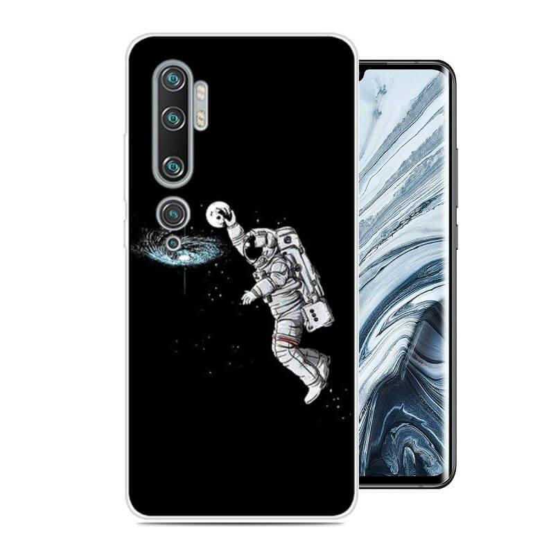 Funda Xiaomi MI Note 10 Gel Dibujo Astronauta