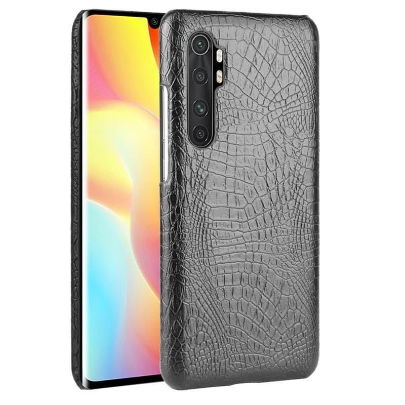 Funda Xiaomi Mi Note 10 Lite Cocodrilo Negra