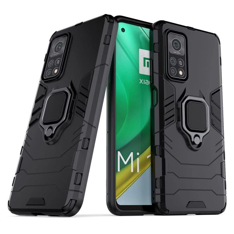 Funda Xiaomi Mi 10T y Mi 10T Pro Shock Resistante negra