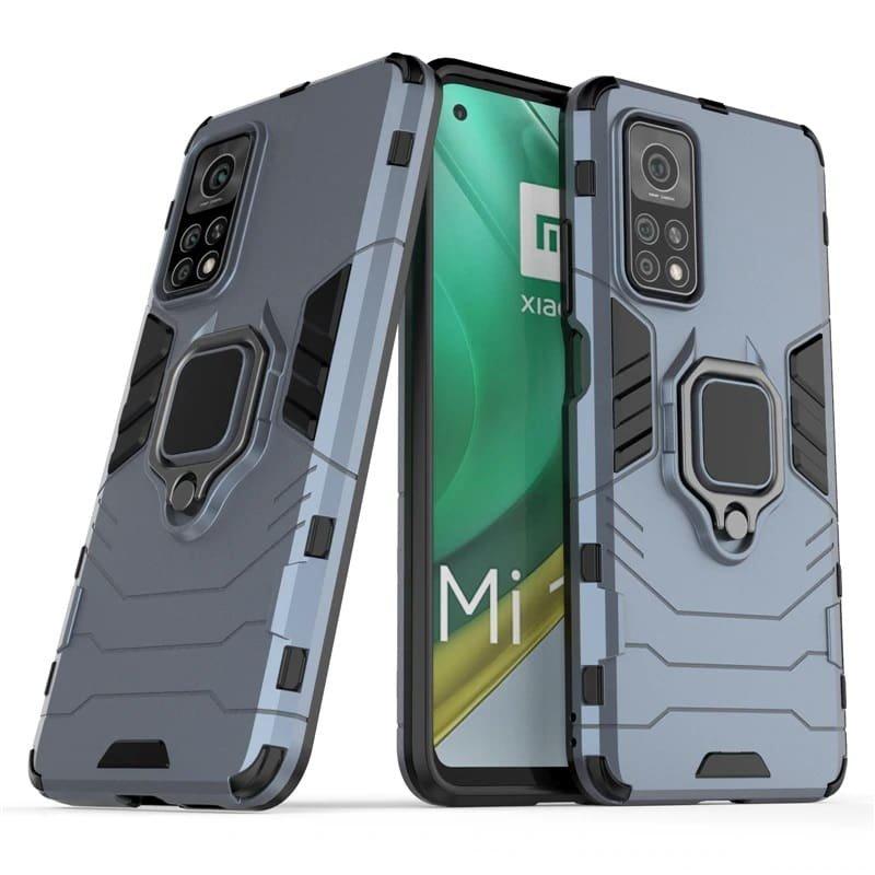 Funda Xiaomi Mi 10T y Mi 10T Pro Shock Resistante gris