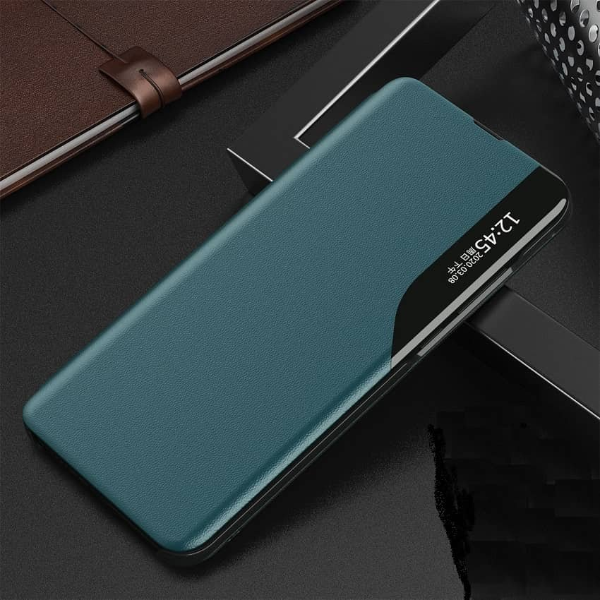 Funda Libro Xiaomi Mi 10T y Mi 10T Pro Soporte Smart verde
