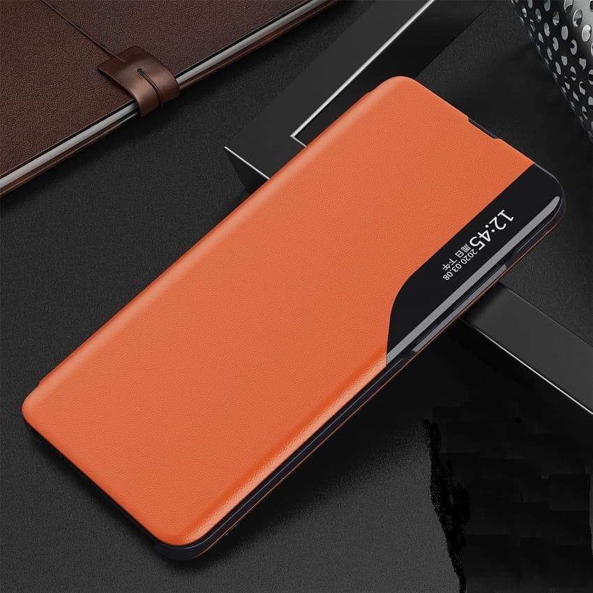 Funda Libro Xiaomi Mi 10T y Mi 10T Pro Soporte Smart naranja
