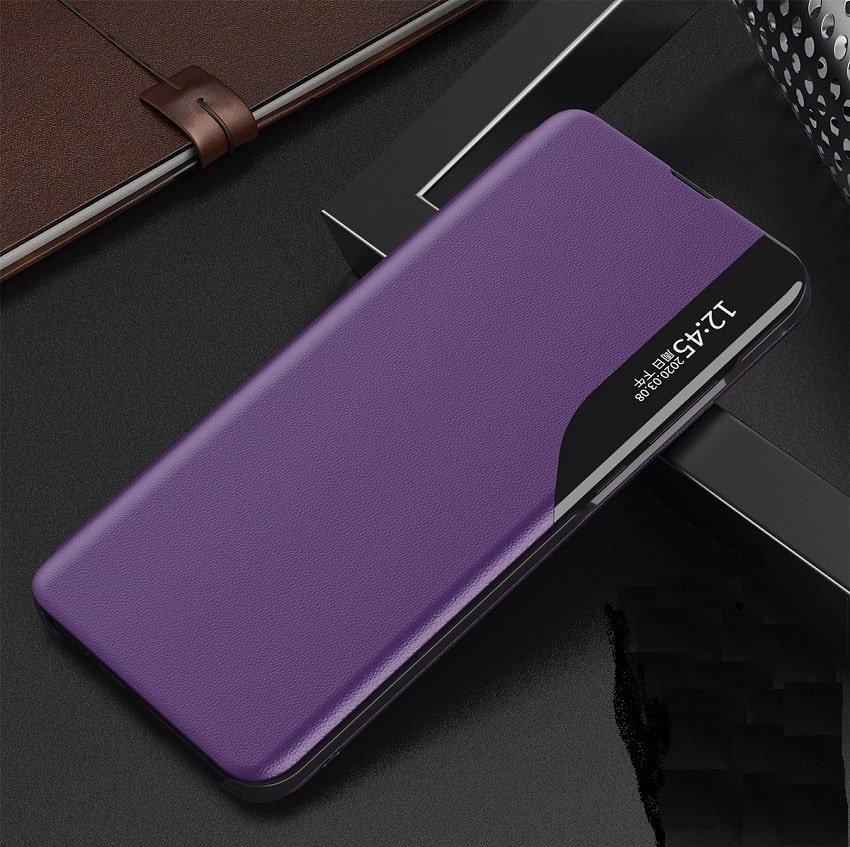 Funda Libro Xiaomi Mi 10T y Mi 10T Pro Soporte Smart morada