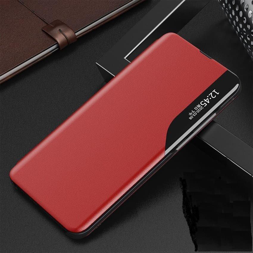 Funda Libro Xiaomi Mi 10T y Mi 10T Pro Soporte Smart rojo