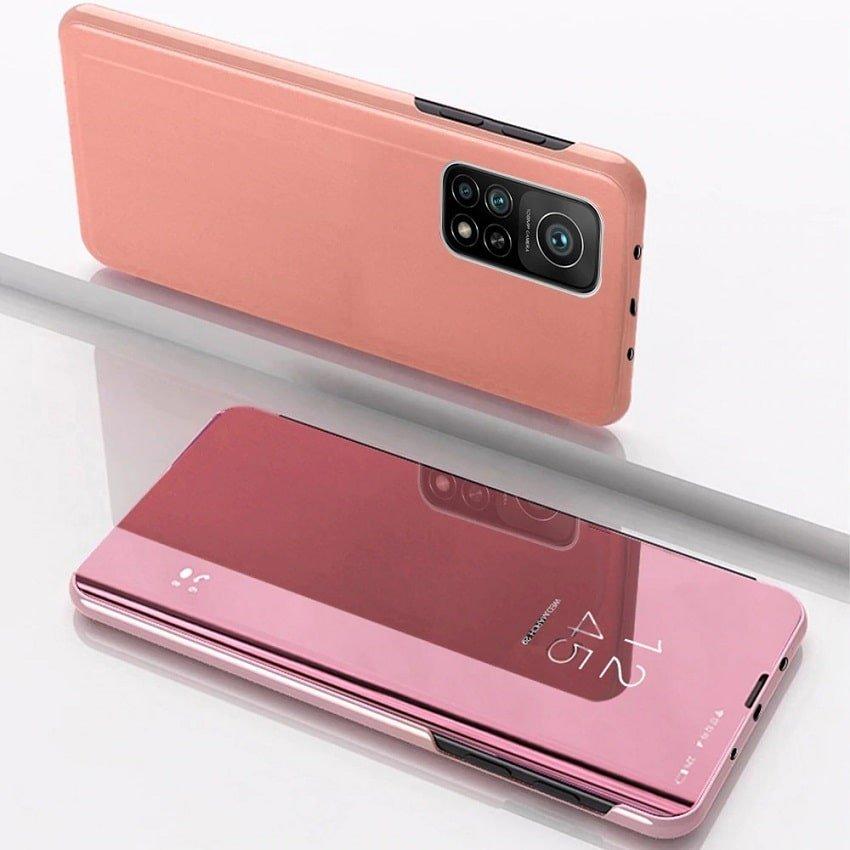 Funda Xiaomi Mi 10T y Mi 10T Pro Espejo Oro Rosa