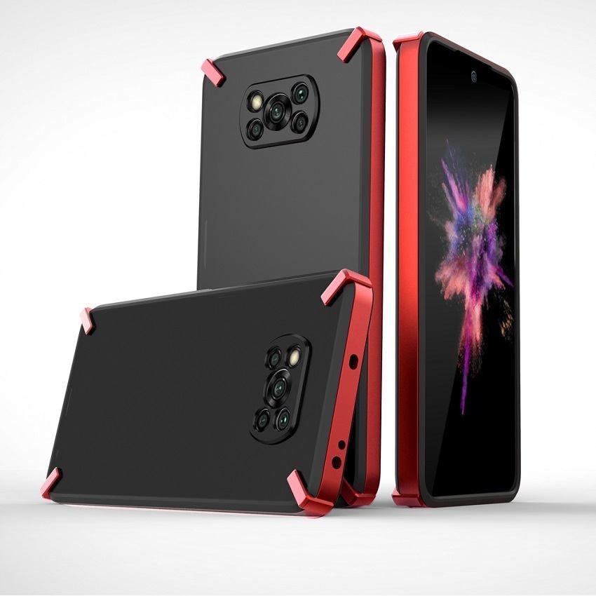 Funda Pocophone Poco X3 Pro Hydrac Roja