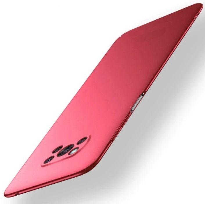 Carcasa Xiaomi Poco X3 Pro Ultra Delgada roja