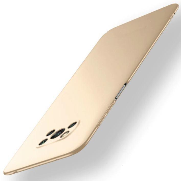 Carcasa Xiaomi Poco X3 Pro Ultra Delgada dorada