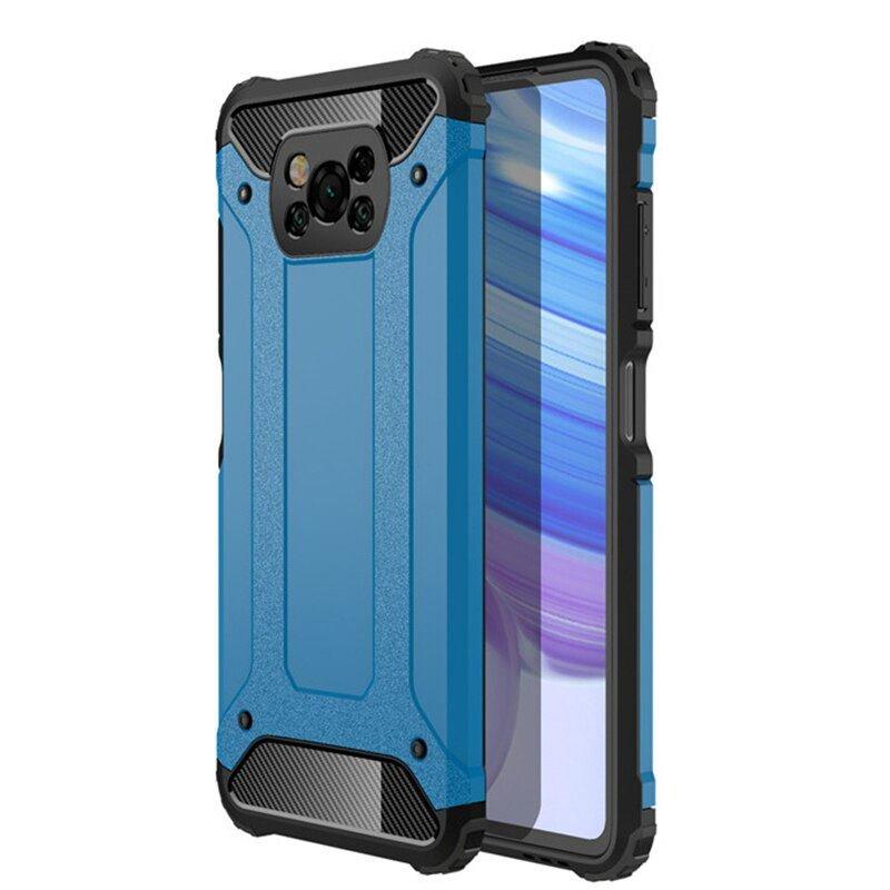 Funda Pocophone Poco X3 Pro Antigolpes azul