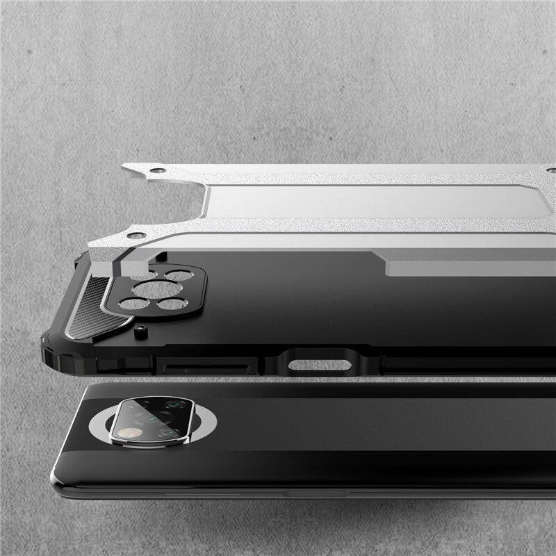 Funda Pocophone Poco X3 Pro Antigolpes triple capa