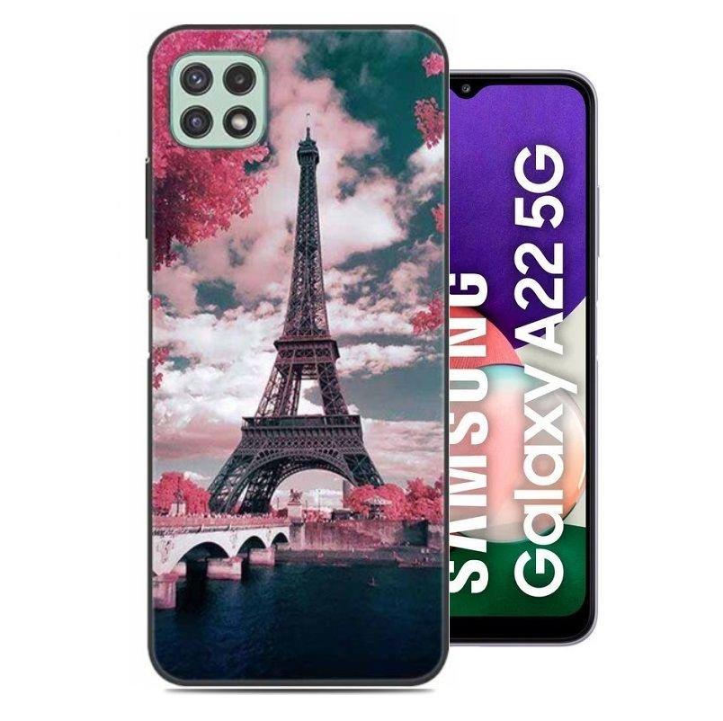 Carcasa flexible Samsung Galaxy A22 5G Paris