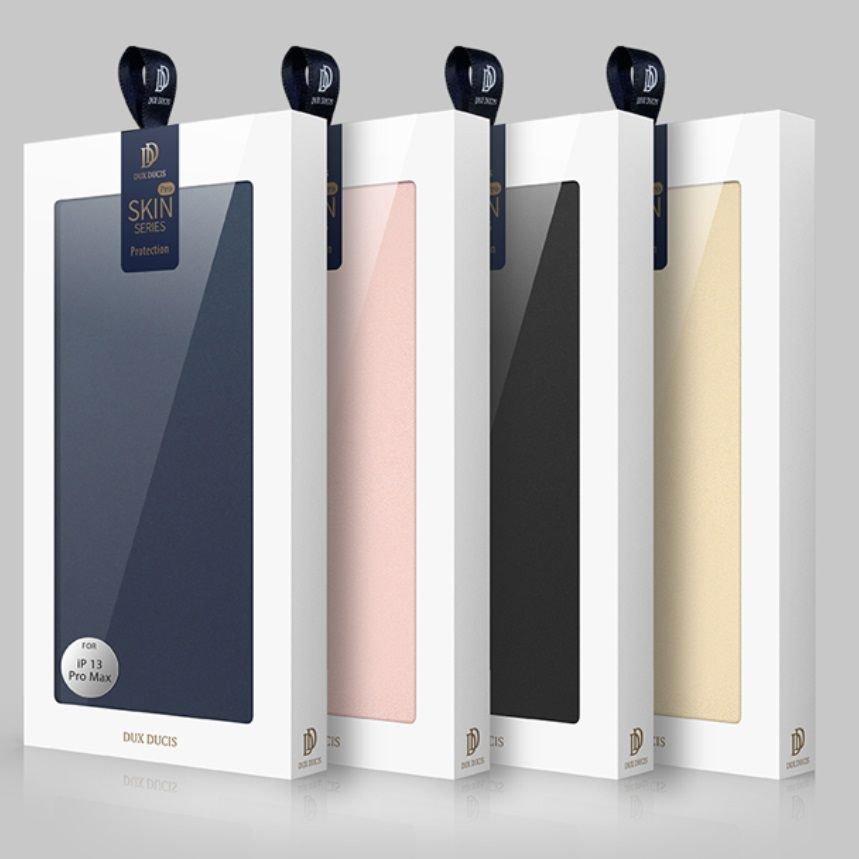 Estuche Cuero iPhone 13 Pro y Pro Max Libro Dux