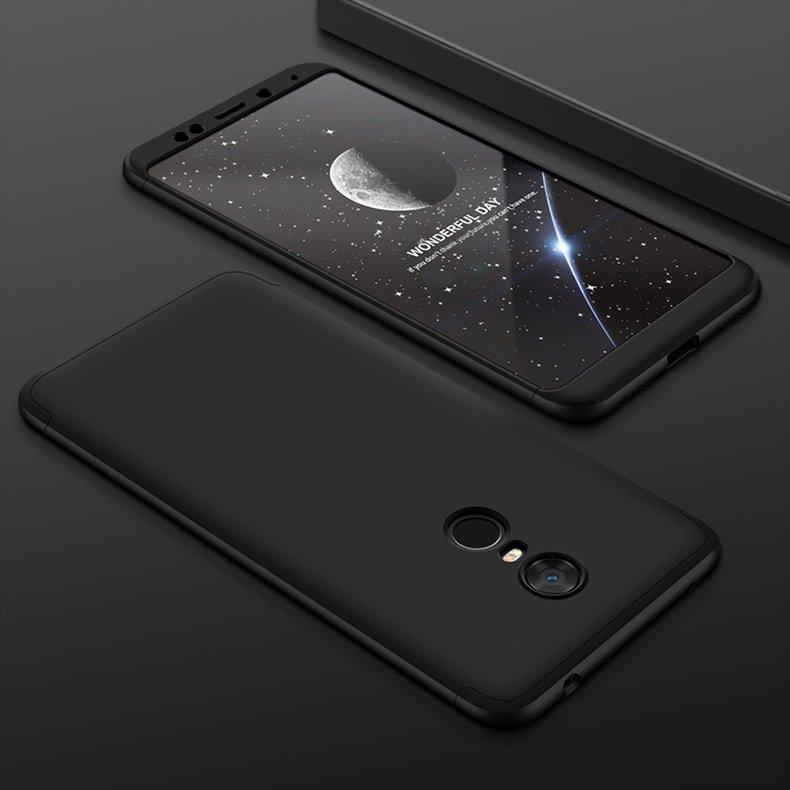 Funda 360 Xiaomi Redmi 5 Plus Negra