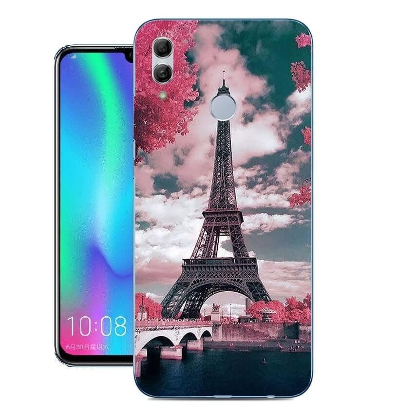 Funda Huawei P Smart 2019 Gel Dibujo Monumentode alta calidad.