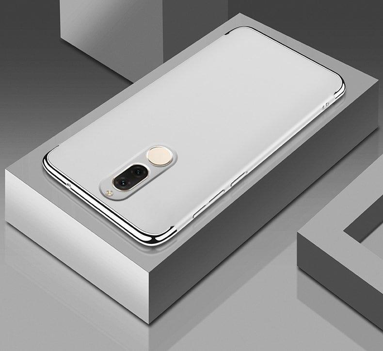 Funda Huawei Mate 10 Lite Cromadas Gris.