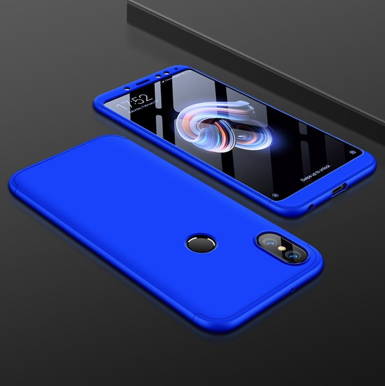 Funda 360 Xiaomi Redmi Note 5 azul