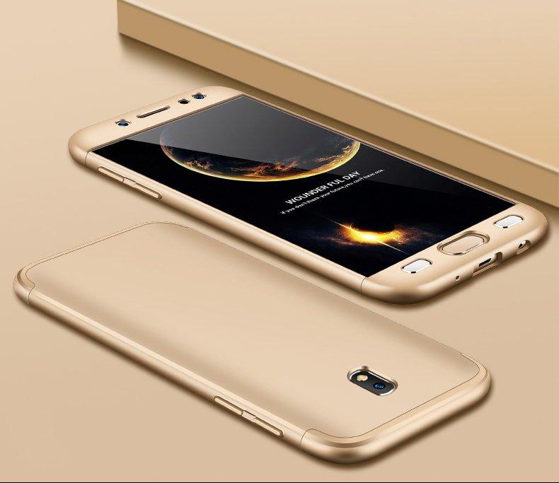 Funda 360 Samsung Galaxy J7 2017Dorada