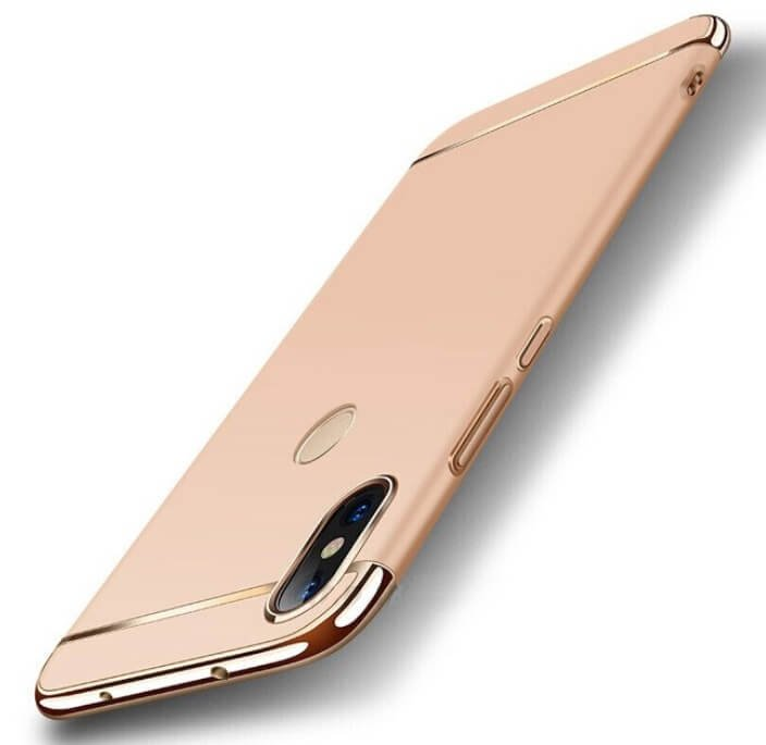 Funda Xiaomi Redmi Note 6 Pro Cromadas Dorada