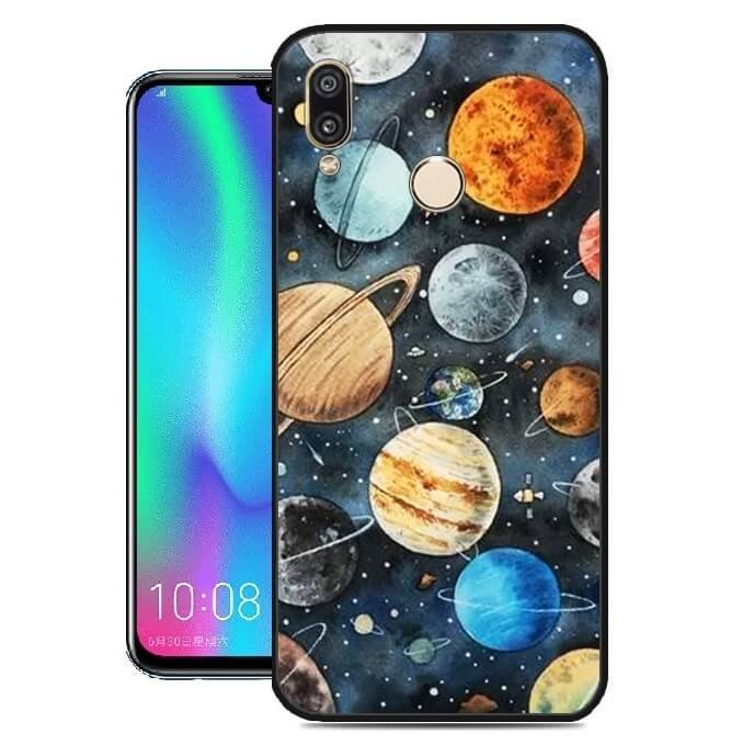 Funda Huawei P Smart 2019 Gel Dibujo Planetasalta calidad.